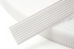 N4331.W Uncovered Polyester Boning - 40m x 12mm: White